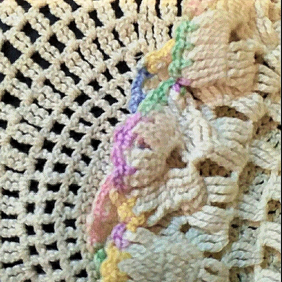 Large Round Doily:  16 inch